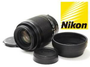 『Top Mint』 Nikon AF NIKKOR 80-200mm f4.5-5.6D w/cap made in Japan #0123