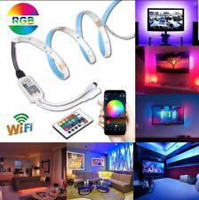 5M 150LED RGB 5050 SMD LED Strip Light Waterproof+24Keys WIFI Remote Controller6