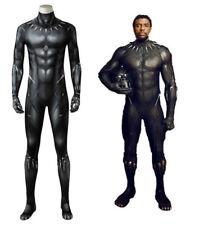 2018 Black Panther T'Challa Wakanda King Cosplay Jumpsuit Fancy Zentai Costume