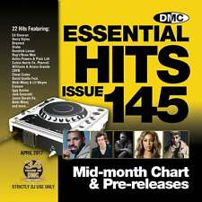 DMC Essential Hits 145 Chart Music DJ CD - Latest Releases of Radio Edit Tracks
