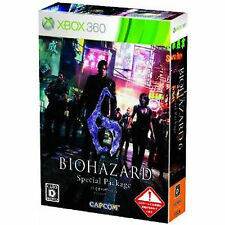 biohazard Xbox 360 Xbox360 Import Japan bio hazard  6 Special Package