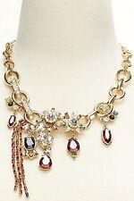 NWT Banana Republic Treasure Trove Berry Chain Necklace Jewelry Stones $118 BOX