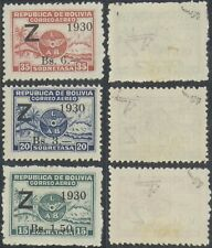 Bolivia 1930 Surcharge - MH Stamps D31