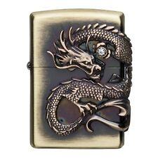 Zippo Dragon Beautiful Design Japanese Collection Japan F/S Tracking RARE New