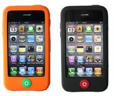 Hama SET 2x Silikon Skin Schutz-Hülle Tasche Case Cover für Apple iPhone 3G 3GS