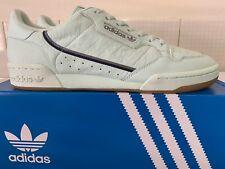 VINTAGE 1980S ADIDAS Rom UK 10 OG White Blue vienna samba