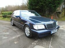 1997 MERCEDES S280 AUTO MET BLUE~GREY LEATHER~SUPERB CONDITION~ONLY 110K MILES~