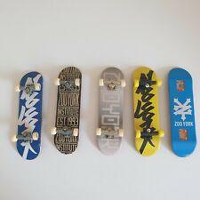 5 x Tech Deck ZooYork Fingerboards