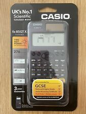 Casio FX-85GTX  Scientific Calculator Back To School GCSE & Higher Grade - BLACK