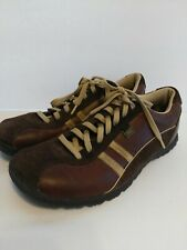 Skechers Women's Shoes Size 9 Brown Toffee Leather Sneakers Lace up SN 45410