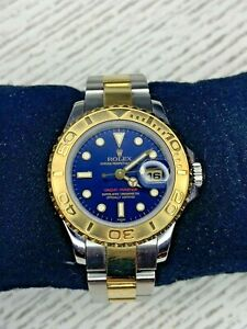 Rolex 169623 Ladies 29mm Yachtmaster Two Tone Full
