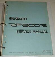 1994 1995 1996 SUZUKI RF600R RF 600 600R Service Repair Manual & Parts Guide