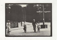 Cyclists In Bridge Valley Road Clifton Bristol c 1905 Repro Postcard 896a
