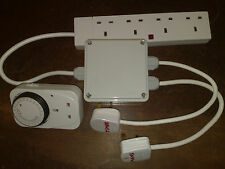 Grow Light Contactor 4 Way Hydroponics Lighting Relay and Timer FREE POSTAGE