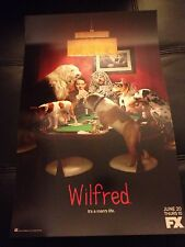 "SDCC 2013 WILFRED IT'S A MAN'S LIFE POSTER 11""x17"" EXCLUSIVE FX TV HTF"