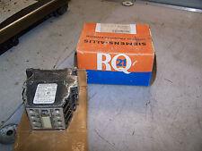 NEW SIEMENS CONTACTOR 120 VAC COIL 600 VAC 10 AMP MODEL RCN22