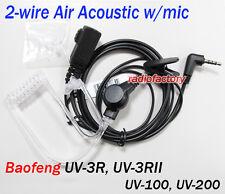 4-006uv De Tubo Acústico Para Baofeng Uv-3r, Uv-3r (mark II), UV-100, UV-200