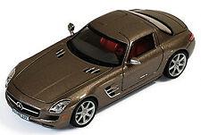 Mercedes Benz SLS coupè 6.3 AMG C197 2010 monza grigio magno metallico 1:43 Ixo