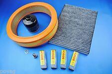Filtersatz Filter Set Inspektionspaket + Zündkerzen VW Vento Golf 3 1H 1,4+1,6