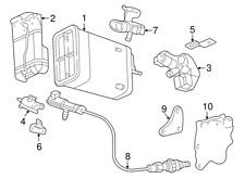 GM # 24574498 Engine Oil/Air Separator PVC * NEW / OE *