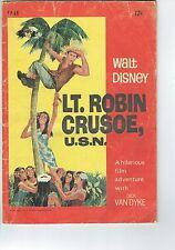 Walt Disney WG Publications Lt Robin Crusoe USN FP66 1967  G+      M17
