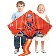 Drachen Flugdrachen mit Drachenleine - Flugspielzeug Drachenflieger