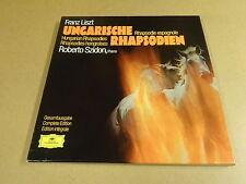 3-LP BOX DEUTSCHE GRAMMOPHON / FRANZ LISZT - UNGARISCHE RHAPSODIEN ( R. SZIDON )