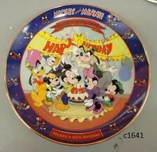 Disney Mickey & Minnie Through the Years Mickey'S 65Th Birthday 6th series Coa