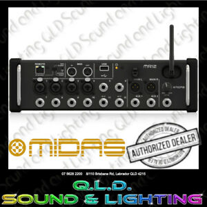 Midas MR12 12 Channel Tablet Controlled Digital Mixer