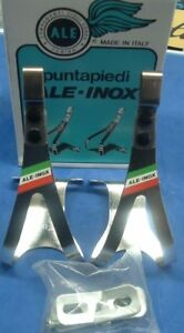 ALE Art.90/M INOX Stainless Steel Medium Road / MTB Toe Clips NEW / NOS- NIB