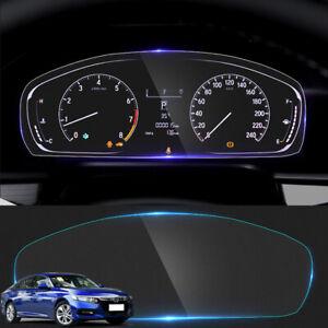 For Honda Accord 2018-2021 TPU Dashboard Sticker Instrument Desk Protective Film