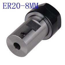 Motor shaft Collet Chuck ER20 A 8mm Extension Rod Holder tool holder CNC Milling
