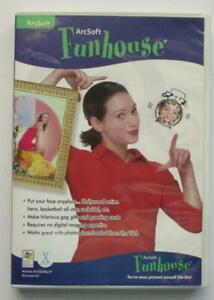 Arcsoft FUNHOUSE for PC, Mac (2006 CD Software) You Never Pictured Yourself Like