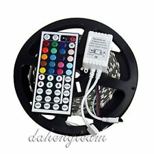 5M 5050 SMD RGB LED Flexible Strip Light 300leds 500CM + 44 Key IR Controller