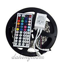 5M 5050 SMD RGB LED Flexible Strip Light 300leds 500CM + 44 Key IR Controller