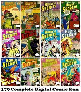 House of Secrets DC comic Complete Digital Collection #1-154 & 1-25 1956 Fantasy