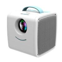 FHD 1080P LED Mini Projector 30Lumens Moive Home Cinema Theater HDMI SD AV