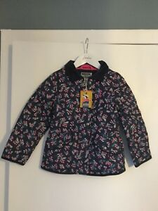Pretty French Navy Ditsy Quilted Newdale Jacket - Joules - BNWT - RRP - £54.95