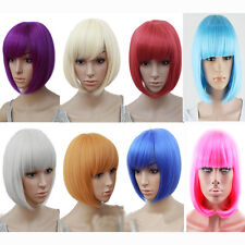 Sexy BOBO Wig Hair Multiple Colors Cosplay Costume Anime Hair Full Wavy Wig Hair
