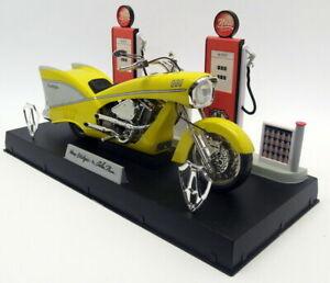 TOY ZONE * HUGE Alren Ness Custom 57 Chevy Motorcycle* NESS-STALGIA* 1/6