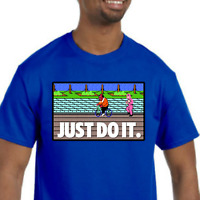 Mike Tyson's Punch-Out T-Shirt NEW (NWT) *Pick your color & size* Just Do It