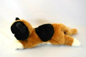 """The Bearington Collection Calico Cat Plush Laying Incredibly Soft! 14"""""""