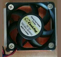 Cool Jag CPU Heatsink Delta EFB0512HA Fan 12VDC Power Cool Socket PGA988 CoolJag