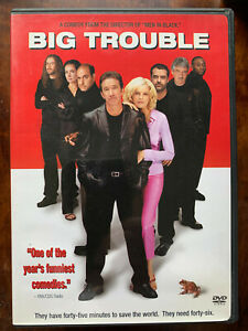 Big Trouble DVD 2002 Crime Caper Comedy Movie w/ Tim Allen + Rene Russo Region 1