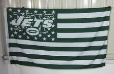 New York Jets 3x5 Ft American Flag Football  New In Packaging