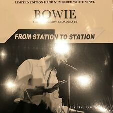 David Bowie - From Station To Station: LTD EDT White Vinyl Lp - New & Sealed