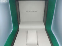 BURBERRY Watch Box for display of the hand watch Presentation Box