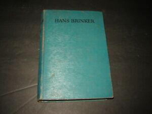 Vintage Hardback Hans Brinker or The Silver Skates 1943 Mary Mapes Dodge