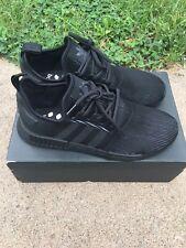 Adidas NMD_R1 Triple Black Reflective Size 13