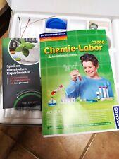 Chemiebaukasten Kosmos, kaum benutzt